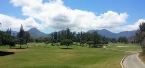 Image of golf course at Kaneohe Bay